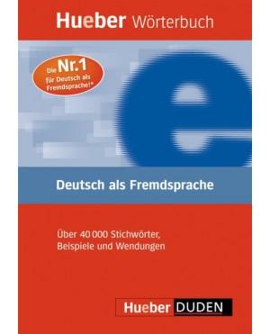 Hueber wörterbuch Deutsch als Fremdsprache