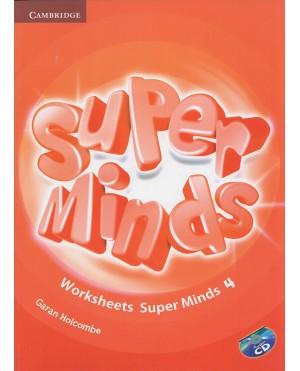 Worksheets Super Minds 4