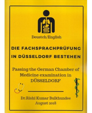 Die Fachsprachprufung in Dusseldorf Bestehen (Deustch/English)