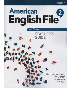 American English file (Teacher's Guide)