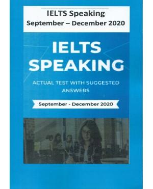 IELTS Speaking September- December 2020