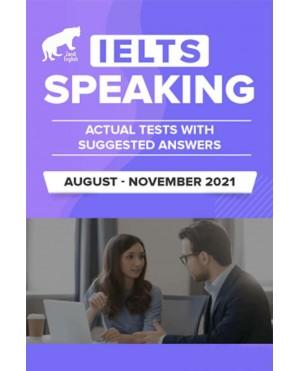 IELTS Speaking August- November 2021