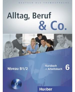 Alltag, Beruf & Co. Kursbuch + Arbeitsbuch 6