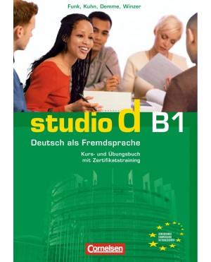 Studio d B1 (Kurs- und Übungsbuch)