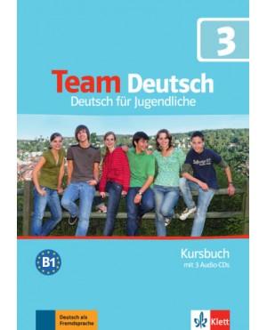 Team Deutsch 3 Kursbuch+Arbeitsbuch